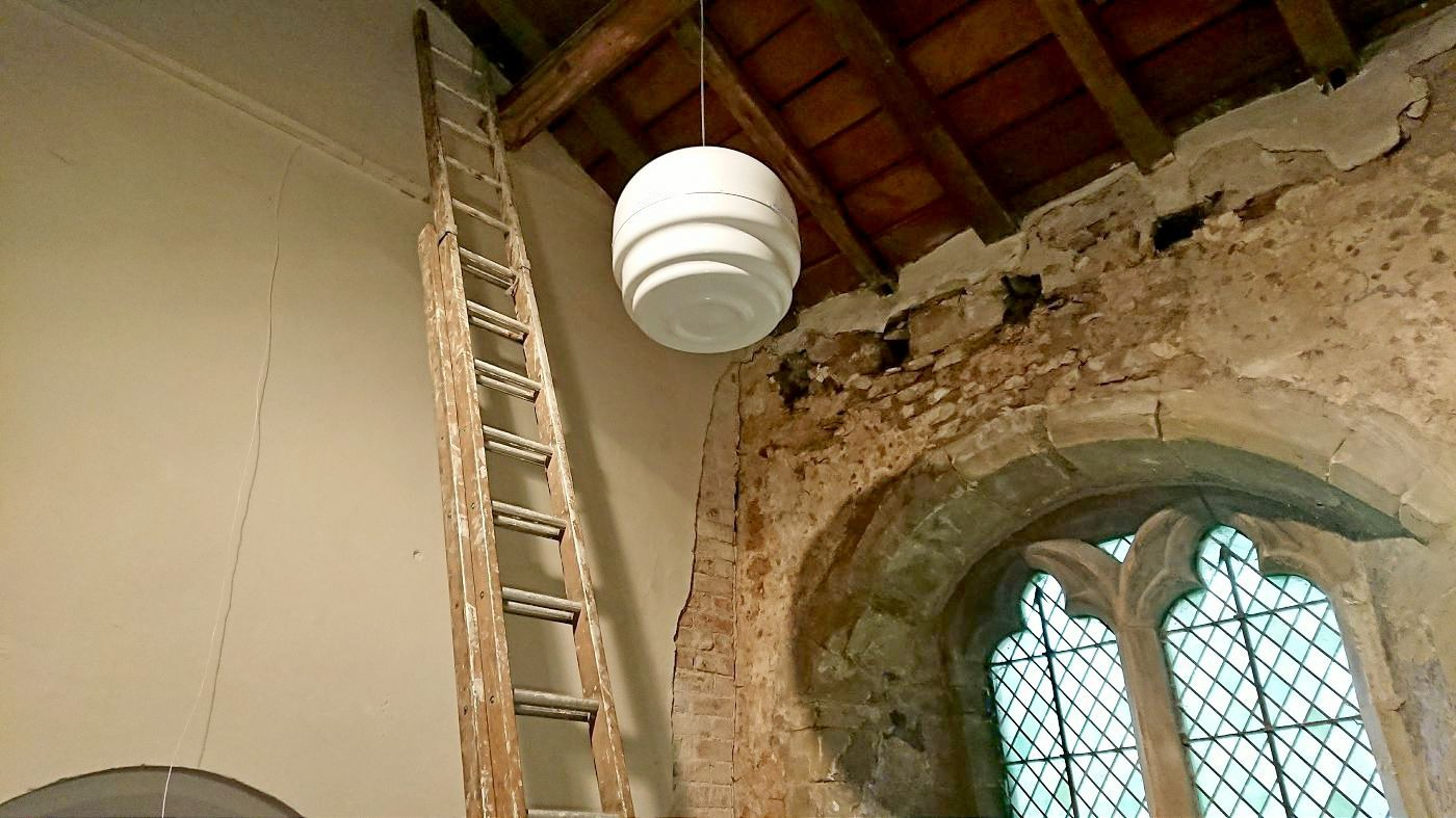 Solving Rising Damp in a Church