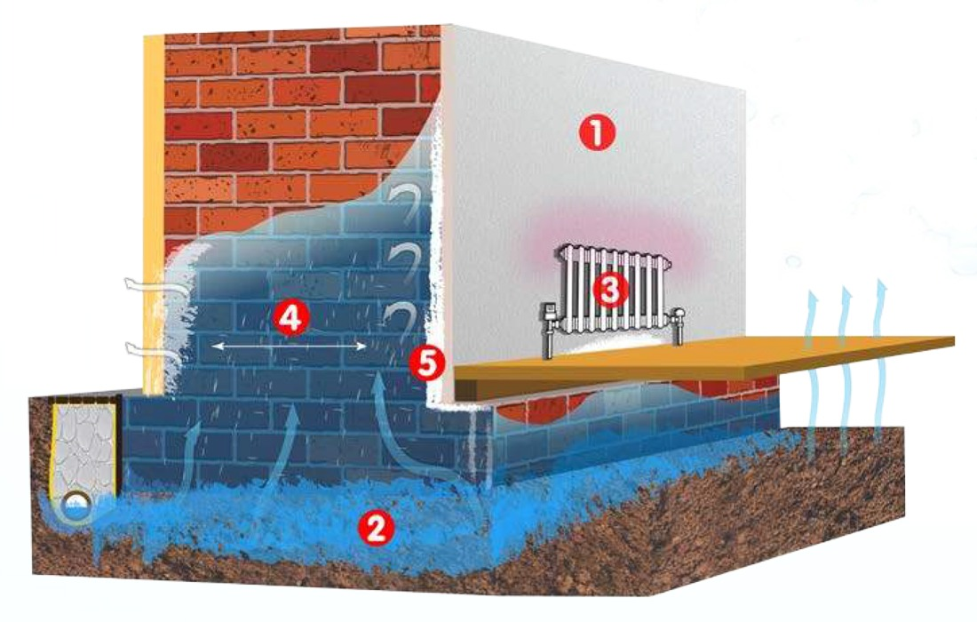 Factors Influencing Rising Damp