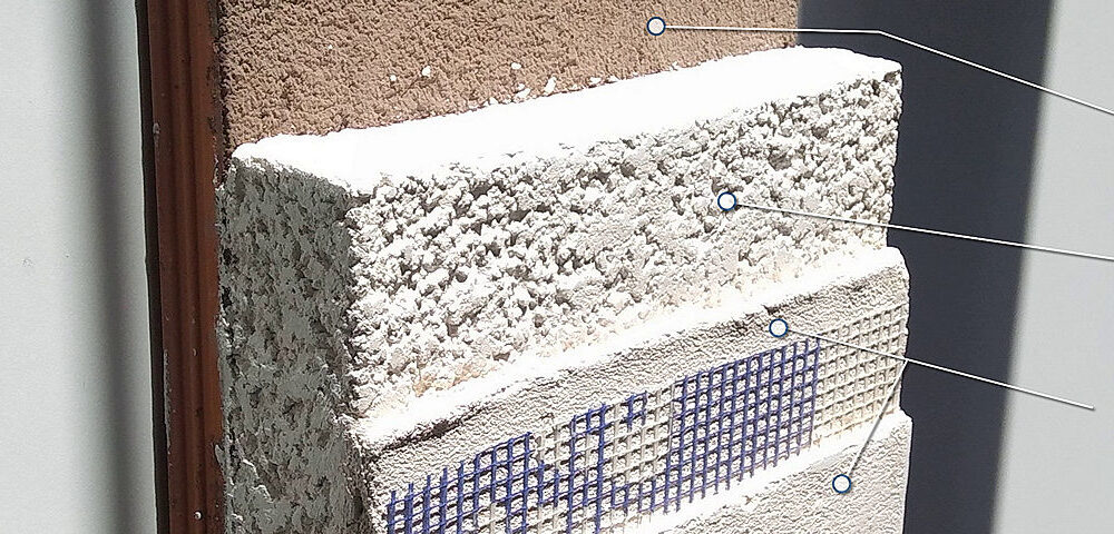 Insulating Thick Solid Walls